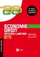 Economie Droit Opticien Lunetier BTS 2e édition