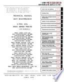 Manuals Combined  U S  Army M813 M813A1 M814 5 Ton Cargo Truck   Repair Operator Parts Tech Pubs Book PDF