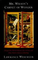 Pdf Mr. Wilson's Cabinet of Wonder