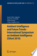 Ambient Intelligence and Future Trends   Book
