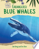 Endangered Blue Whales Book