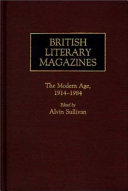 British Literary Magazines  The Augustan age and the age of Johnson  1698 1788