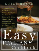 Easy Italian Cookbook Book