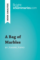 A Bag of Marbles by Joseph Joffo  Book Analysis