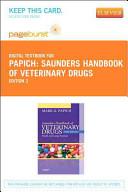Saunders Handbook of Veterinary Drugs Book
