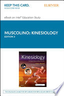 """Kinesiology E-Book: The Skeletal System and Muscle Function"" by Joseph E. Muscolino"