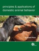 Principles and Applications of Domestic Animal Behavior