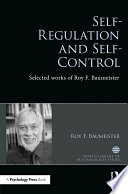 Self-Regulation and Self-Control