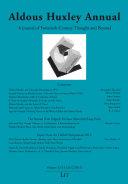 Aldous Huxley Annual. Volume 12/13 (2012/2013)