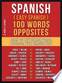 Spanish   Easy Spanish   100 Words   Opposites