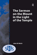 The Sermon on the Mount in the Light of the Temple Pdf/ePub eBook