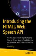 Introducing the HTML5 Web Speech API [Pdf/ePub] eBook