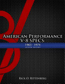 American Performance V 8 Specs  1963 1974  Second Edition