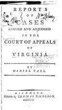 Reports of Cases Argued and Adjudged in the Court of Appeals ...