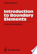 Introduction to Boundary Elements Book