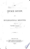 The Church Review     Book