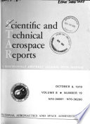 Scientific and Technical Aerospace Reports
