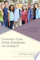 Common Core State Standards for Grade 8