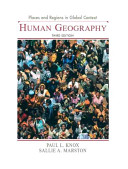Cover of Places and Regions in Global Context