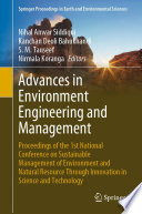 Advances in Environment Engineering and Management Book