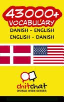 43000  Danish   English English   Danish Vocabulary