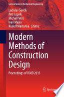 Modern Methods of Construction Design Book PDF