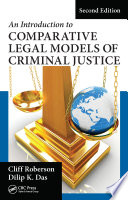 An Introduction to Comparative Legal Models of Criminal Justice Book PDF