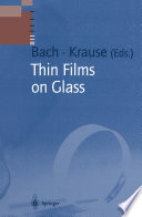 Thin Films on Glass Book