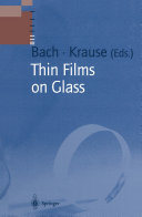 Thin Films on Glass