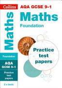 AQA GCSE 9-1 Maths Foundation Practice Test Papers