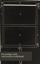 Proceedings of the Royal Society of Edinburgh