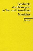 Geschichte der Philosophie in Text und Darstellung