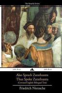 Also Sprach Zarathustra Thus Spoke Zarathustra Book PDF