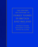 The Oxford Dictionary of Family Names in Britain and Ireland