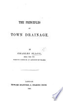 The Principles of Town Drainage Book