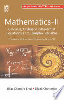 Mathematics-II (Calculus, Ordinary Differential Equations and Complex Variable)
