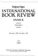 Literary Digest International Book Review Book
