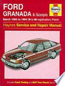 Ford Granada & Scorpio