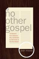 No Other Gospel Pdf/ePub eBook