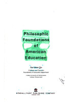 Philosophic Foundations of American Education