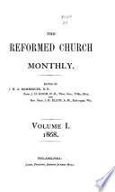 The Reformed Church Monthly