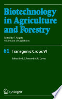 Transgenic Crops VI