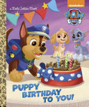 Puppy Birthday to You  Book PDF