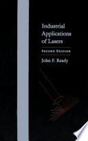 Industrial Applications Of Lasers Book PDF
