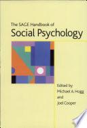 The Sage Handbook Of Social Psychology