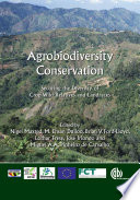Agrobiodiversity Conservation Securing the Diversity of Crop Wild Relatives and Landraces