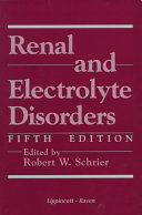 Renal and Electrolyte Disorders Book