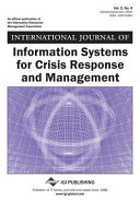International Journal Of Information Systems For Crisis Response And Management Issue 3 Book PDF