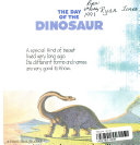 Berenstain Bears and the Day of the Dinosaur