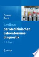 Lexikon der Medizinischen Laboratoriumsdiagnostik